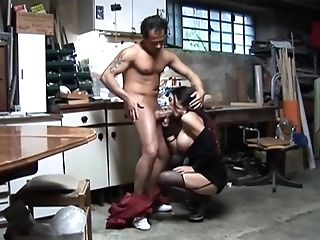 Chesty Mummy Got Down And Dirty With A Stunning, Italian Man, And Liked His Rock Hard Bone