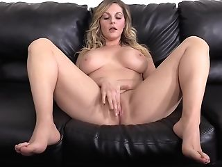 Good Looking Blonde Lady, Tessa Desired To Become A Adult Movie Star, So She Went To An Interview