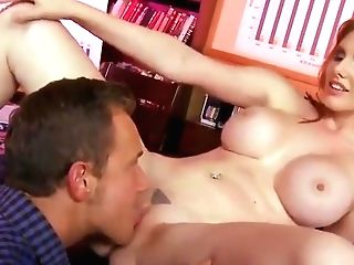 Ravishing Sandy-haired With Big Titties Gets Fucked In Conference Room