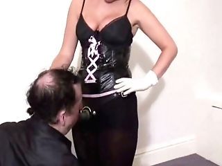 Mistress Kerry Made Fucking With Strap On Dildo