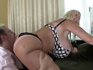Matures Blonde With Thick Tits Fucked Hard