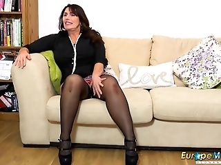 Europemature Big-chested Matures Cooter Drill Compilation