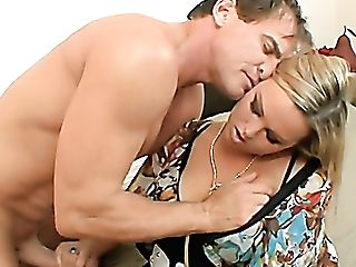 Tempting Milfie Beauty With Tastey Booty Abbey Brooks Rails Strong Boner Dick