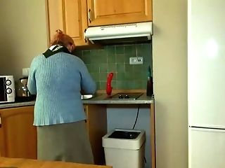 Oldnanny Granny And Teenager Masturbate With Sextoy
