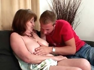 He Tempts Wifes Mummy Into Taboo Rod Railing