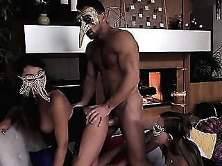 Lusty Danni Rivers Is Impatient To Be Fucked Rear End During Steamy Mff Threesome