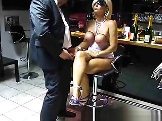 Lady Barbara Cougar Blonde Suck Dick