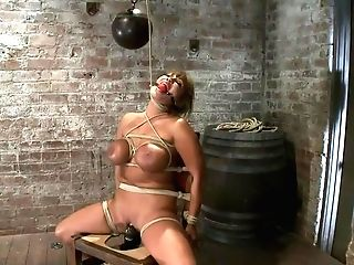 Old School Hogtiedbig Titted Mummy In The Chairorgasm After Orgasm No Grace