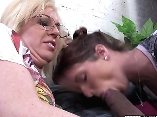 Mom Sindi Starlet And Tweety Valentine Take A Big Black Cock