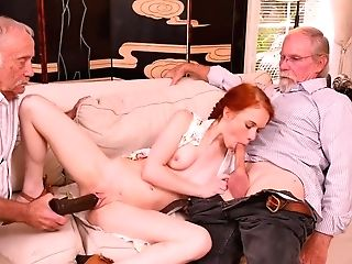 Matures Old Guys Orgy