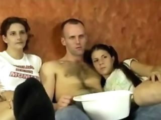 Mummy Turns On To See The Pornography Flick On Movie