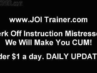 Joi Obsession And Female Domination Onanism Instruction Porno