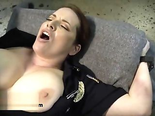 Huge-boobed Cops Get Banged By Stranger