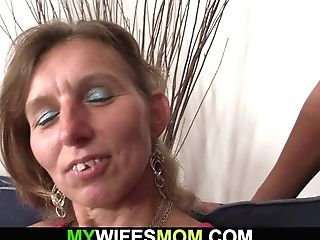 Wifey Witnesses Her Smallish Tits Mom Rails His Man Rod